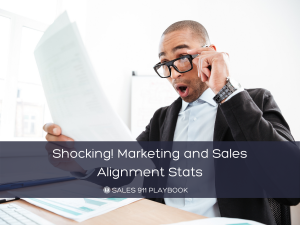 Shocking! Marketing and Sales Alignment Stats