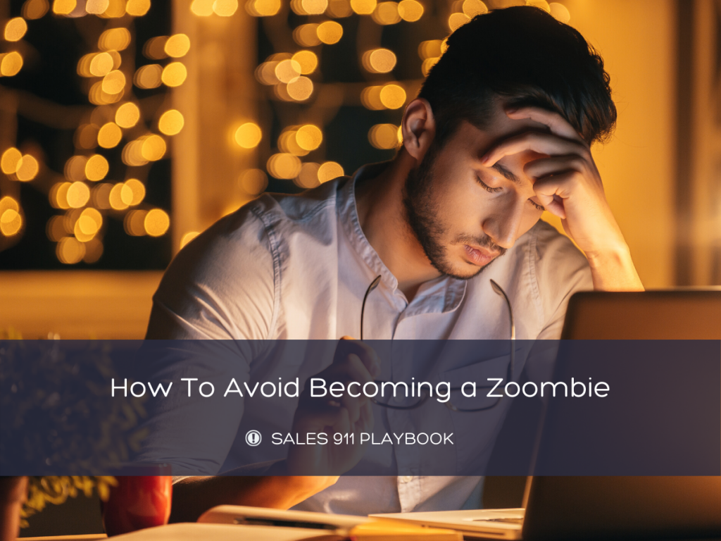 Don't be a Zoombie. Take a Break.